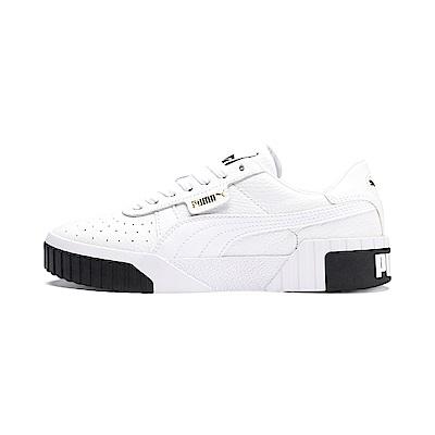 PUMA-Cali Wns女復古休閒鞋-白色