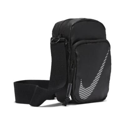Nike 斜背包 Heritage Winterized 男女 NSW 運動休閒 穿搭 外出 輕便 黑 銀 DB4696010