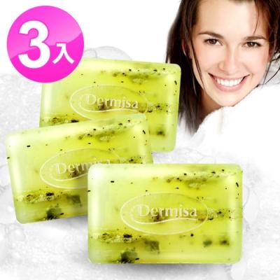 Dermisa綠茶清爽粉刺淨膚皂3入組(85gx3)★市價2100(0919好康)