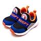 SNOOPY 史努比 PEANUTS兒童電燈運動鞋 黑藍橘 95120 product thumbnail 1