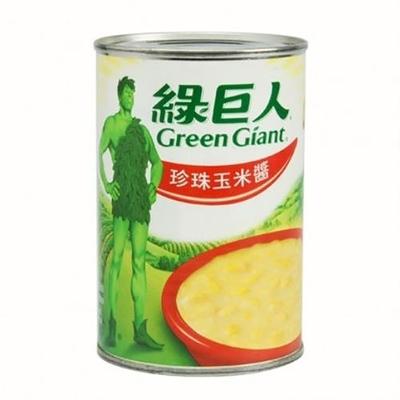 (任選)綠巨人 珍珠玉米醬 418g