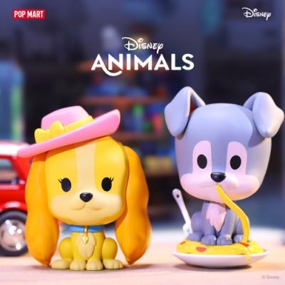 迪士尼 經典動物系列公仔盒玩(12入盒裝)