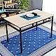 H&D 里洛工業風個性鐵架餐桌 product thumbnail 1