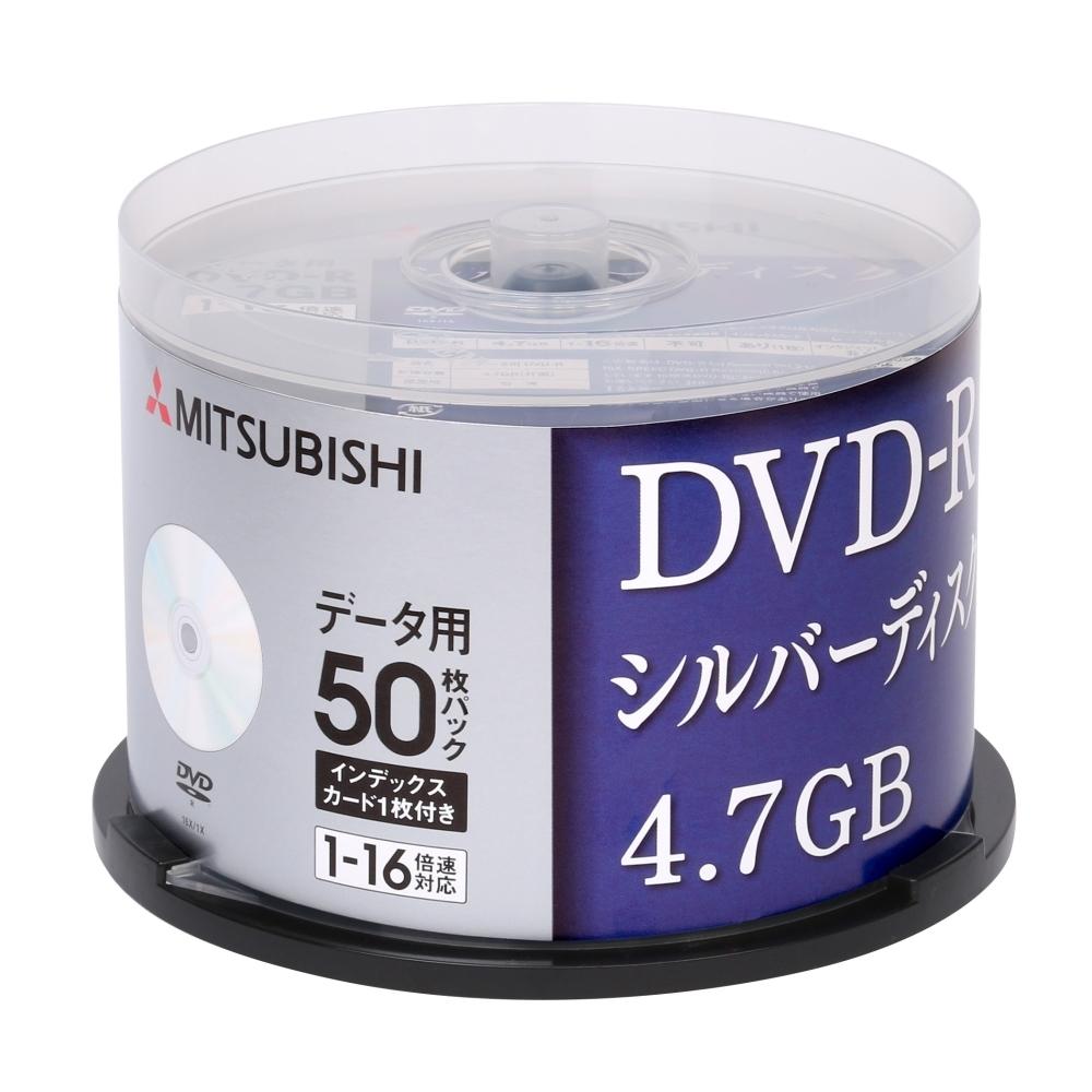 三菱 MITSUBISHI 日本限定版 DVD-R 4.7GB 16X 空白光碟x50片