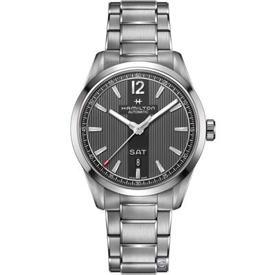 Hamilton 漢米爾頓 百老匯 Day Date 機械錶(H43515135)
