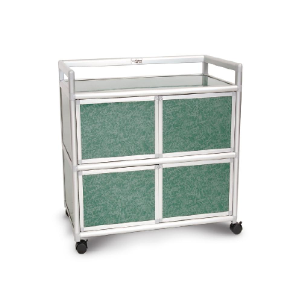 Cabini小飛象-花崗綠得意2.5尺鋁合金四門櫃73.5x50.8x83.6cm