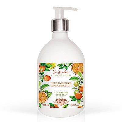 Institut Karite Paris 巴黎乳油木 橙花花園香氛液體皂500ml
