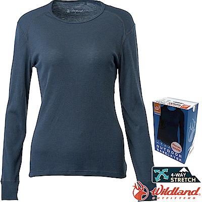 Wildland 荒野 H2663-93深灰色 女Highest圓領保暖衣 發熱衣