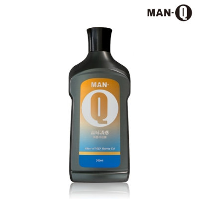 MAN-Q 品味誘惑男香沐浴露350ml