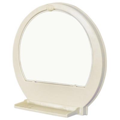 浴室壁式半圓形化妝鏡組