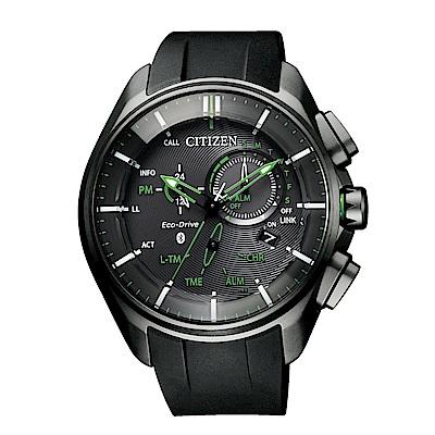 CITIZEN 星辰鈦金屬藍芽光動能腕錶/BZ1045-05E