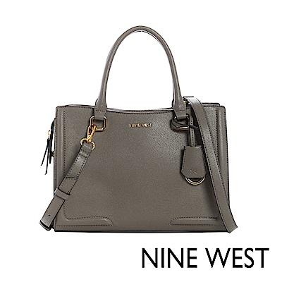 NINE WEST SHAYDEN梯型手提包-可可棕(117206)