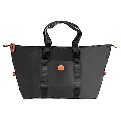 BRICS 義大利時尚 摺疊收納旅行袋 黑色 防潑水