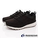 日本Moonstar戶外健走鞋-3E寬楦防滑抗菌款 1666黑(女段)
