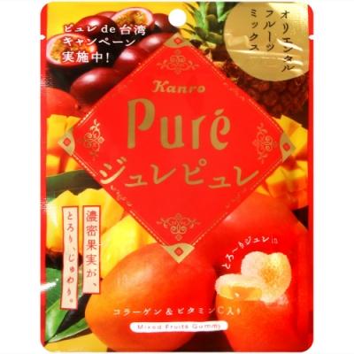 Kanro Pure熱帶水果軟糖(66g)