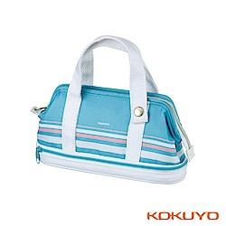 KOKUYO Capatto多功能收納筆袋-清涼藍