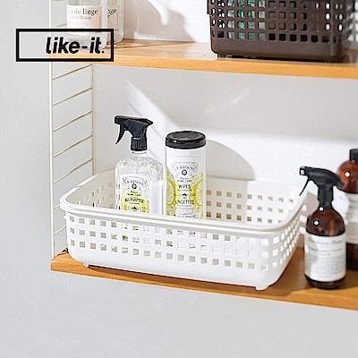 【日本like-it】可堆疊加高洗衣隙縫籃-S