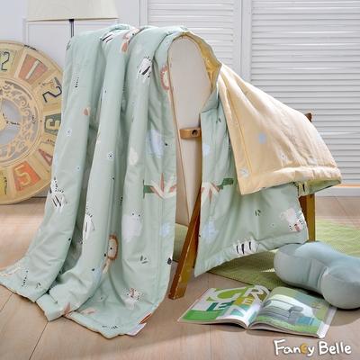 義大利Fancy Belle 來趣動物園 100%精梳棉抗菌涼被 5x6.5尺