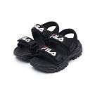 FILA KIDS 中童運動涼鞋-黑 2-S171U-001