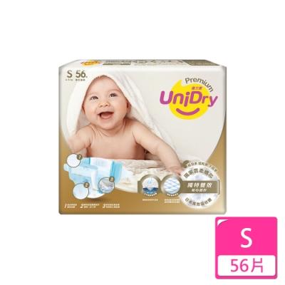 Unidry優力寶柔緻寶貝紙尿褲S號336片(56片x6包)/箱