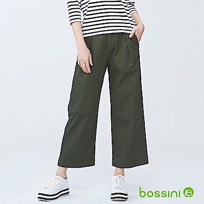 bossini女裝-彈性修身褲09草綠
