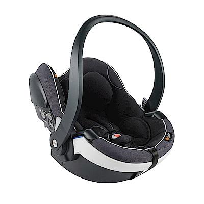 【Besafe】iZi Go Modular模組化兒童汽座提籃-極光黑(白飾邊)