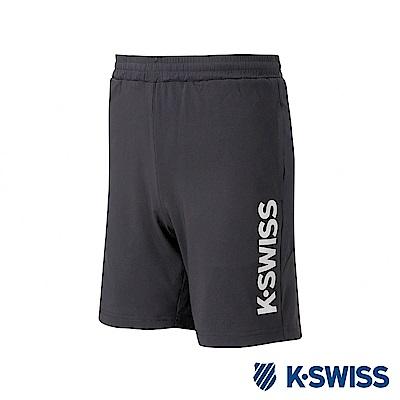 K-SWISS PF Shorts 運動短褲-男-黑