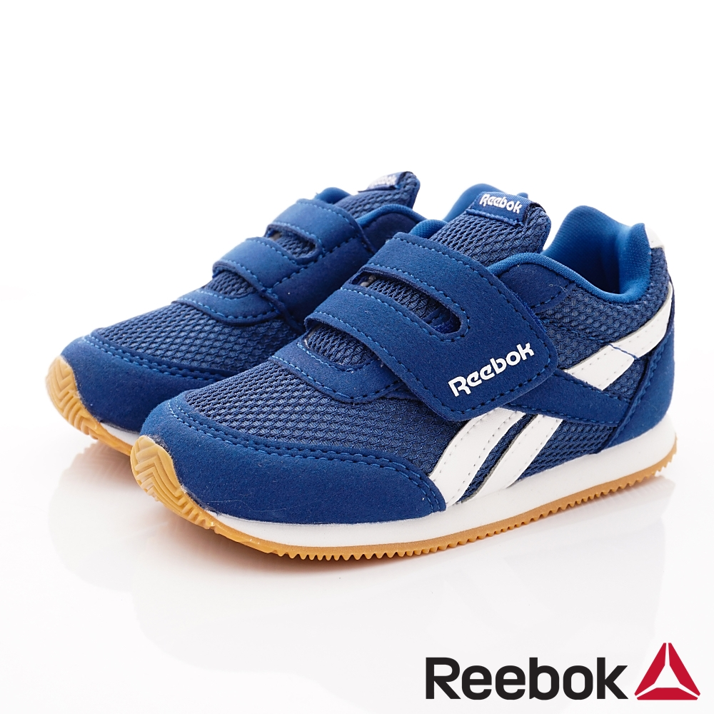 Reebok頂級童鞋 經典簡約學步鞋款 FO048深藍(小童段)