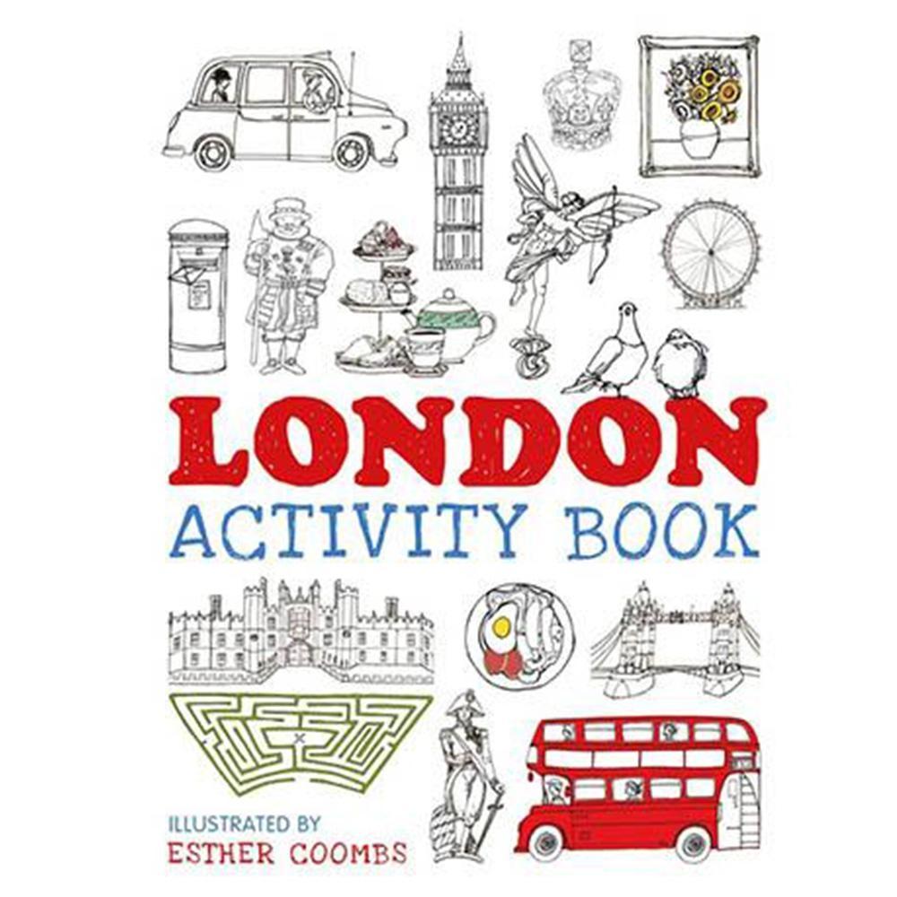 London Activity Book 倫敦創作著色本