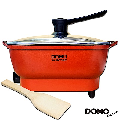 DOMO-歐風4.0L多功能料理電火鍋(DM5003CT)-福利品
