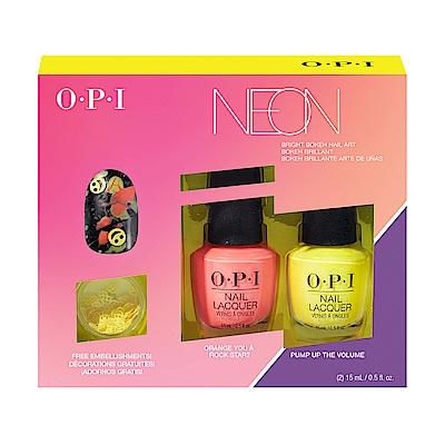 OPI 霓虹搖滾派對系列.霓虹搖滾派對指尖霓光2入組 (DDN06)