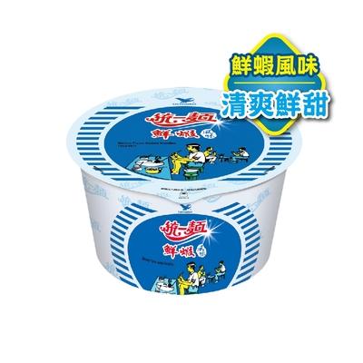 統一麵 鮮蝦風味碗裝(12入/箱)