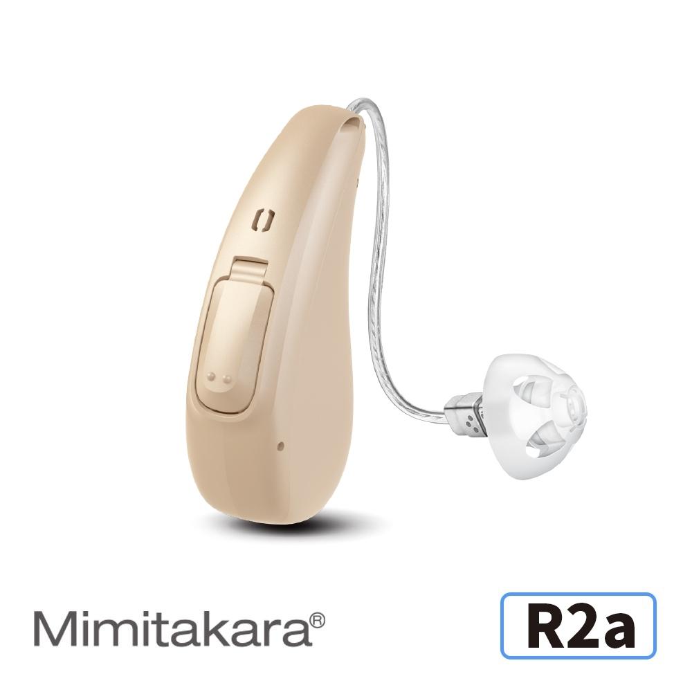 Mimitakara耳寶 16頻節能充電耳掛式助聽器R2a-隱密膚