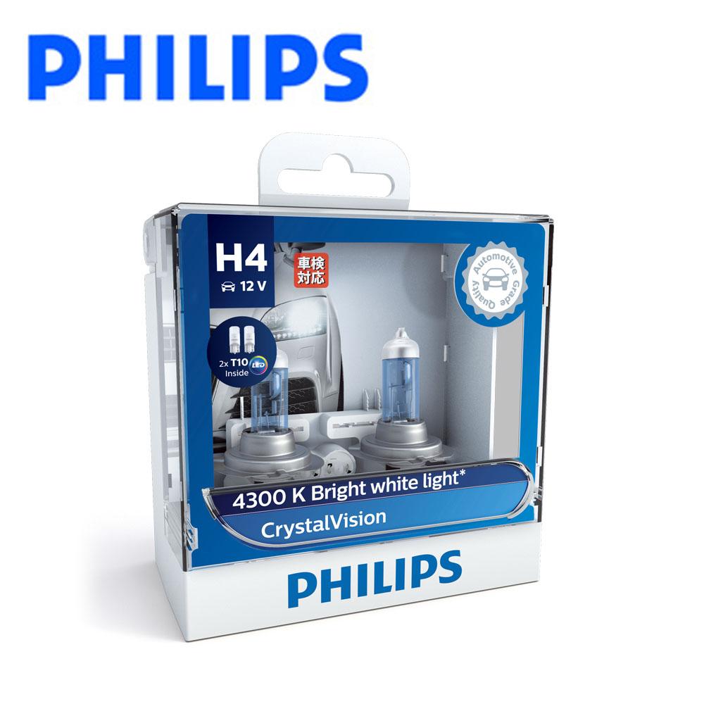 PHILIPS 飛利浦 車燈 水晶之光 CVI 4300K公司貨
