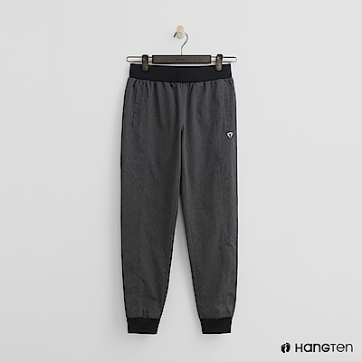 Hang Ten - 女裝 - ThermoContro-輕薄鬆緊束口褲-灰