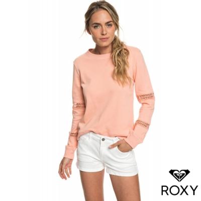 【ROXY】MINIMAL MOOD 棉質牛仔短褲 白
