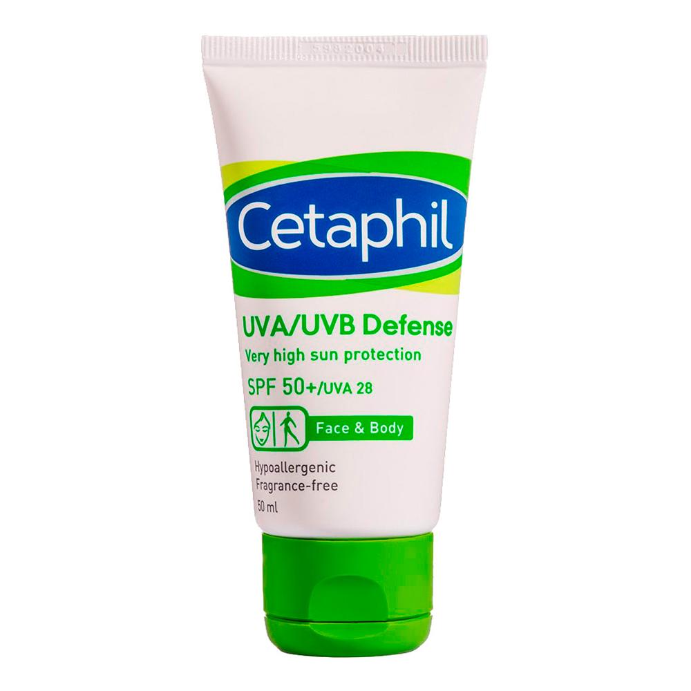 Cetaphil舒特膚 極緻全護低敏防曬霜SPF50 50ml 贈全護低敏防曬霜 5ml
