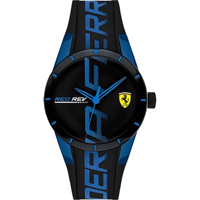 Scuderia Ferrari 法拉利 Red Red 手錶-藍/38mm