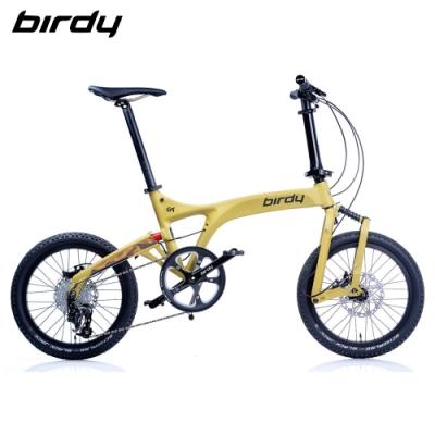 New Birdy(Ⅲ) GT多地形越野10速18吋前後避震鋁合金折疊單車-消光沙漠黃