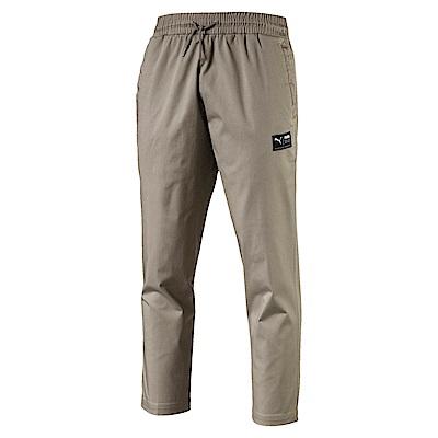 PUMA-男性流行系列Downtown卡其長褲-大地棕-亞規