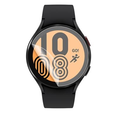 o-one小螢膜 三星Samsung Galaxy Watch 4 44mm 手錶保護貼兩入組 犀牛皮防護膜 抗衝擊自動修復