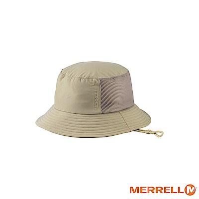 MERRELL 吸濕排汗快乾休閒帽-卡其(5318HC116)