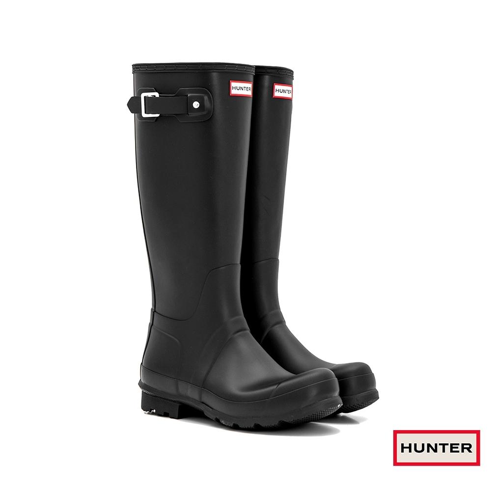 HUNTER - 男鞋 - Original霧面長靴 - 黑