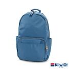 Kiiwi O! 質感防潑尼龍雙層 筆電包/後背包 YVONNE 藍