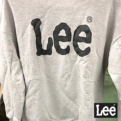 Lee  LEE LOGO帽Tee-男款-灰