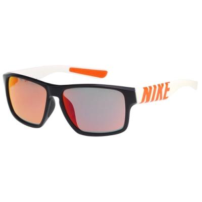 NIKE 水銀面 太陽眼鏡(黑配白)EV1148