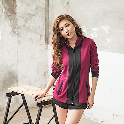 8:AT 外套 M-XL(莓紫)
