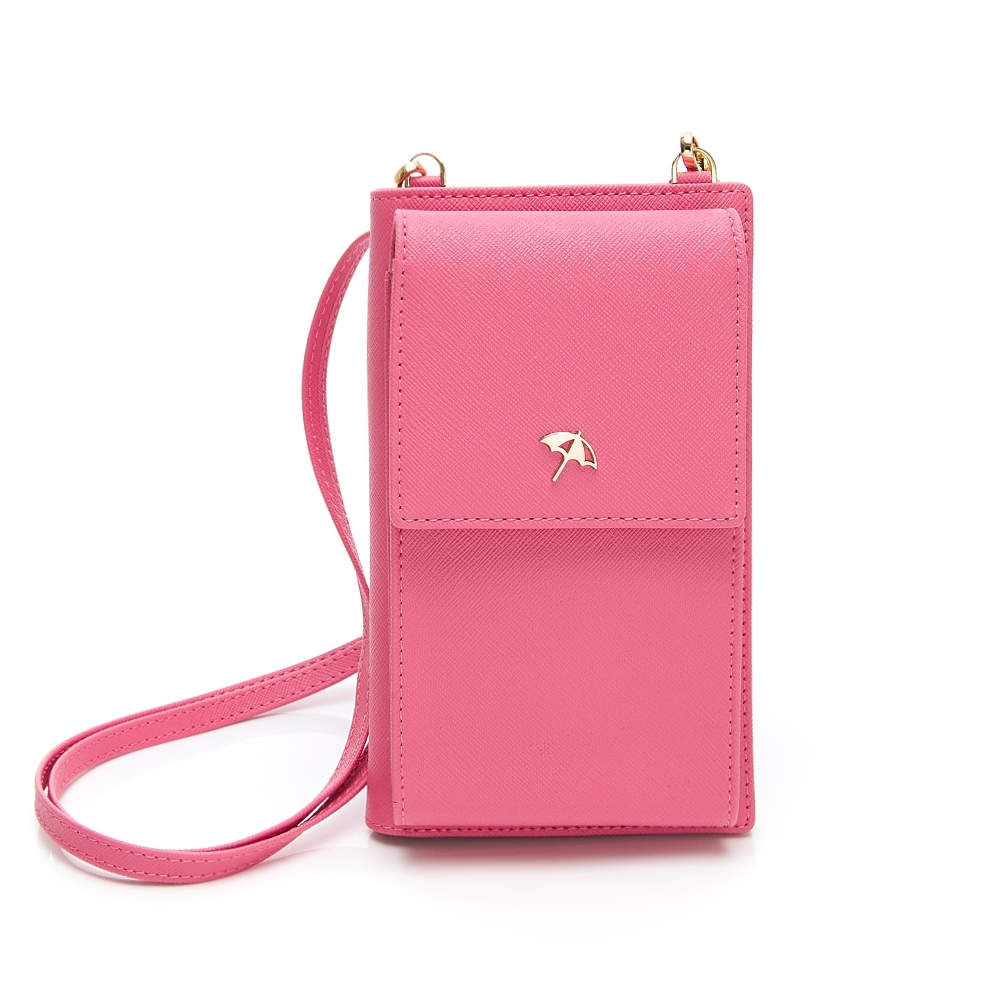 Arnold Palmer- 中夾附長背帶 SIMPLE系列-桃粉色