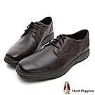 Hush Puppies WOLFHOUND 紳士綁帶皮鞋-深棕