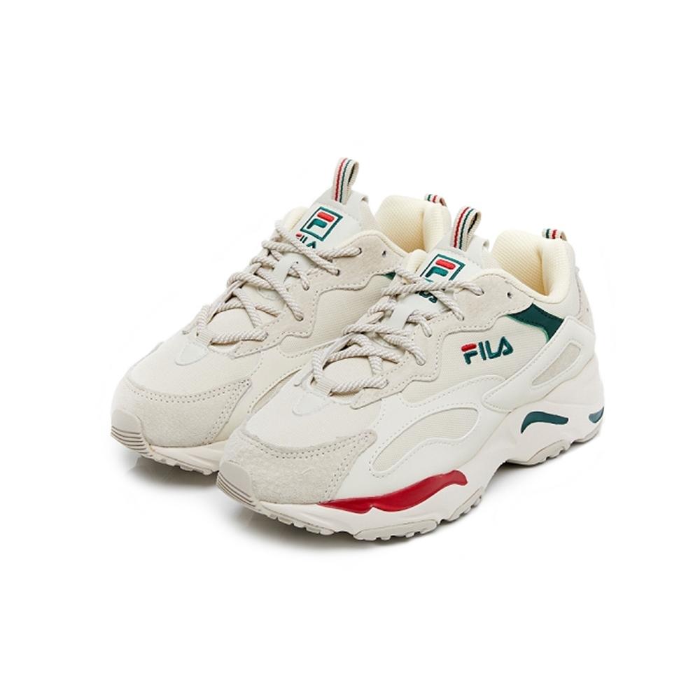 FILA RAY TRACER 中性運動鞋-紅綠 4-C103V-926